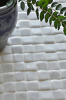 Giovanni Barbieri 2 x 2 in. Timeworn Bianco Carrara