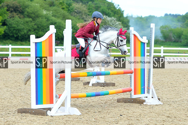 Class 7. Brook Farm 70cms Small Pony Open. BS Junior Showjumping Inc Scope qualifiers. Brook Farm Training Centre. Essex. 23/05/2015. MANDATORY Credit Ellie Ingram/Sportinpictures - NO UNAUTHORISED USE - 07837 394578