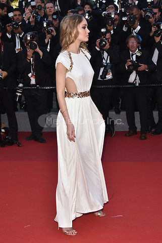 Lily-Rose Depp<br /> arrivals at the opening gala premiere at the 70th Cannes Film Festival, France, May 17, 2017<br /> CAP/Phil Loftus<br /> &copy;Phil Loftus/Capital Pictures /MediaPunch ***NORTH AND SOUTH AMERICAS ONLY***