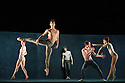 Ballett Zurich presents a double bill of KAIROS and SONNETT, at the Edinburgh Playhouse, as part of the Edinburgh International Festival. This piece is KAIROS, choreographed by Wayne McGregor.