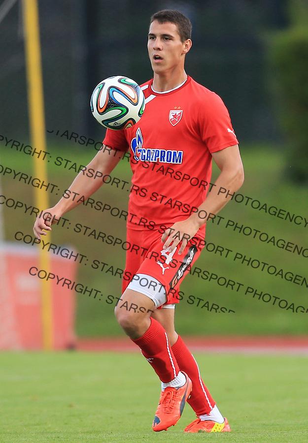 Fudbal season 2013-2014<br /> FK Crvena Zvezda pripreme<br /> Crvena Zvezda v Krka<br /> Darko Lazic<br /> Novo Mesto, 07.12.2014.<br /> foto: Srdjan Stevanovic/Starsportphoto &copy;
