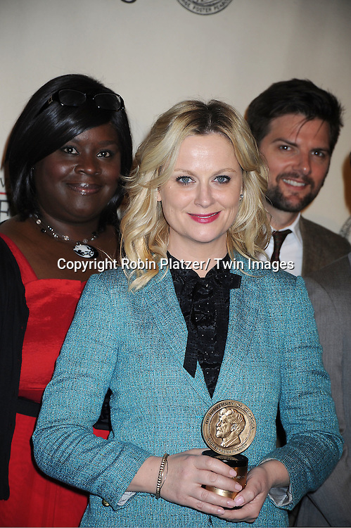 Amy Poehler attends the 71st Annual Peabody Awards at the Waldorf Astoria Hotel in New York City on May 21, 2012.