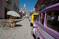 Former silver mining town Real de Catorce, San Luis Potosi, Mexico. Aromas y Sabores with Chef Patricia Quintana