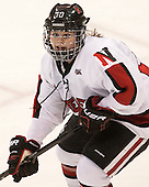 Colleen Murphy (NU - 10) - The Northeastern University Huskies defeated Boston College Eagles 4-3 to repeat as Beanpot champions on Tuesday, February 12, 2013, at Matthews Arena in Boston, Massachusetts.