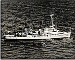 1950s photo of USS Kittiwake, ASR-13