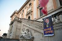 Manifestazione contro il sindaco Alemanno