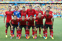 Fortaleza, Brazil - Tuesday, June 17, 2014: Mexico and Brazil are 0-0 ending the first half of World Cup group play at Est&aacute;dio Castel&atilde;o, <br /> <br /> 17/06/2014/MEXSPORT/OMAR MARTINEZ<br /> <br /> Estadio: Castelao, Fortaleza