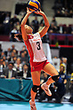Yoshie Takeshita (JPN),.NOVEMBER 17,2011 - Volleyball : FIVB Women's Volleyball World Cup 2011,4th Round Tokyo(A) during match between Japan 3-2 Germany at 1st Yoyogi Gymnasium, Tokyo, Japan. (Photo by Jun Tsukida/AFLO SPORT) [0003].