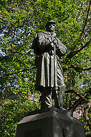 Statue, Central Park, Manhattan, New York City, New York, USA