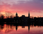 4.1.13 Lake Sunrise.JPG by Matt Cashore/University of Notre Dame
