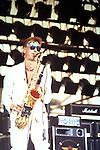 HAWKWIND - Nik Turner - Live at Monsters of Rock Festival , Castle Donnington , England 1982 Castle Donnington Monsters of Rock 1982 Donnington 1982