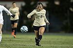 21 November 2014: Colorado's Madison Krauser. The University of North Carolina Tar Heels hosted the University of Colorado Buffaloes at Fetzer Field in Chapel Hill, NC in a 2014 NCAA Division I Women's Soccer Tournament Second Round match. UNC won the game 1-0 in overtime.