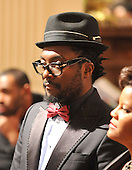 Washington, D.C. - February 25, 2009 -- Singer will.i.am looks on as United States President Barack Obama makes remarks as the President and first lady Michelle Obama host &quot;Stevie Wonder In Performance at the White House: The Library of Congress Gershwin Prize&quot; to showcase an evening of celebration at the White House in honor of musician Stevie Wonder's receipt of the Library of Congress Gershwin Prize for Popular Song in the East Room of the White House in Washington, D.C. on Wednesday, February 25, 2009..Credit: Ron Sachs / Pool via CNP