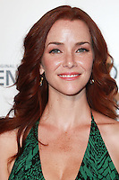 LOS ANGELES, CA, USA - SEPTEMBER 15: Annie Wersching arrives at the Los Angeles Premiere Of Amazon Studios' 'Transparent' held at the Ace Hotel on September 15, 2014 in Los Angeles, California, United States. (Photo by David Acosta/Celebrity Monitor)