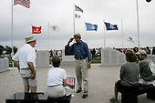 Canton, Missouri.USA .August 4, 2004..Senator John Kerry andd his wife Teresa campaign for the US presidency on their tour across America. .