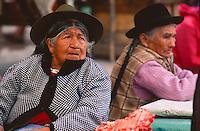 The butcher. Sunday market, Pisac, Peru, 2016.