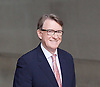 Andrew Marr Show departures<br /> BBC, Broadcasting House, London, Great Britain <br /> 19th February 2017 <br /> <br /> <br /> Lord Peter Mandelson<br />  president of Policy Network and Chairman of strategic advisory firm Global Counsel<br /> <br /> <br /> <br /> <br /> Photograph by Elliott Franks <br /> Image licensed to Elliott Franks Photography Services
