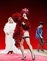 "London, UK. 29/06/2011.  les ballets C de la B Alain Platel and Frank Van Laecke present ""Gardenia"" at Sadler's Wells. In red: Vanessa Van Durme. Photo credit should read Jane Hobson"