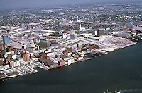 1963 ..Redevelopment.Downtown South (R-9)..WATERFRONT VIEW.LOOKING NORTHEAST...NEG#.NRHA#..