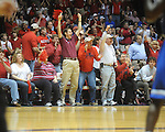 Mississippi fans cheer vs. Memphis in NIT second round basketball action at the C.M. &quot;Tad&quot; Smith Coliseum in Oxford, Miss. on Friday, March 19, 2010. Ole Miss won 90-81.