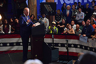 Philadelphia, PA - September 27, 2016: Vice President Joe Biden speaks during a campaign stop to support Hillary Clinton's presidential campaign at Drexel University in Philadelphia, Pennsylvania, September 27, 2016.  (Photo by Don Baxter/Media Images International)