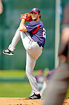 6 March 2006: John Patterson , pitcher for the Washington Nationals, on the mound during a Spring Training game against the Los Angeles Dodgers. The Nationals and Dodgers played to a scoreless tie at Holeman Stadium, in Vero Beach Florida...Mandatory Photo Credit: Ed Wolfstein..
