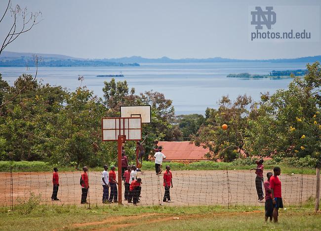 Oct. 13, 2009; Lakeview Secondary School, Jinja, Uganda..Photo by Matt Cashore/University of Notre Dame