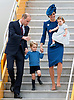 PRINCESS CHARLOTTE<br /> The daughter of the Duke and Duchess of Cambridge will be 2-years-old on the 2nd of May 2017.<br /> These images are a retrospective from birth to the present, showing the Princess on the rare public appearances.<br /> <br /> 24.09.2016; Victoria, Canada: SHADES OF BLUE - DUKE &amp; DUCHESS OF CAMBRIDGE, PRINCE GEORGE AND PRINCESS CHARLOTTE<br /> arrive on a RCAF aircraft at the start of their tour of Canada at Victoria Airport.<br /> Kate Middleton chose a Jenny Packam outfit with a matching blue hat from Lock &amp; Co.<br /> Princess Charlotte, Prince George and Prince William wore oufits in shades of blue.<br /> The tour will take Royals to parts of both British Columbia and the Yukon.<br /> Mandatory Photo Credit: &copy;Francis Dias/NEWSPIX INTERNATIONAL<br /> <br /> IMMEDIATE CONFIRMATION OF USAGE REQUIRED:<br /> Newspix International, 31 Chinnery Hill, Bishop's Stortford, ENGLAND CM23 3PS<br /> Tel:+441279 324672  ; Fax: +441279656877<br /> Mobile:  07775681153<br /> e-mail: info@newspixinternational.co.uk<br /> Usage Implies Acceptance of Our Terms &amp; Conditions<br /> Please refer to usage terms. All Fees Payable To Newspix International