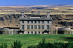 Maryhill Museum overlooking the Columbia River in eastern Washington Maryhill State Park USA.