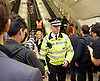 Sadia Khan at London&rsquo;s Night Tube launch at Brixton tube station, London, Great Britain <br /> 19th August 2016 <br /> <br /> Paul Crowther - BTP Chief Constable<br /> <br /> <br /> Sadia Khan, mayor of London,  launched the first night tube service and travelled on a tube train between Brixton and Walthamstow on the Victoria Line. <br />  <br /> He launched the first 24 hour Friday and Saturday night services on the Central and Victoria lines <br /> <br /> Photograph by Elliott Franks <br /> Image licensed to Elliott Franks Photography Services