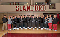 Stanford Gymnastics M Portraits and Team Photo, December 8, 2016