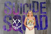 LONDON, ENGLAND - AUGUST 3: Margot Robbie attending the 'Suicide Squad' European Premiere at Odeon Cinema, Leicester Square on August 3, 2016 in London, England.<br /> CAP/MAR<br /> &copy;MAR/Capital Pictures /MediaPunch ***NORTH AND SOUTH AMERICAS ONLY***