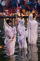 Holy day ritual, Delhi, India