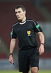 St Johnstone v Stenhousemuir&hellip;21.01.17  McDiarmid Park  Scottish Cup<br />Referee Euan Anderson<br />Picture by Graeme Hart.<br />Copyright Perthshire Picture Agency<br />Tel: 01738 623350  Mobile: 07990 594431