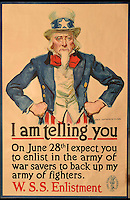 First World War propaganda posters for sale.