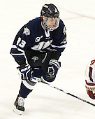 Dan Correale (UNH - 13) - The Boston College Eagles and University of New Hampshire Wildcats tied 4-4 on Sunday, February 17, 2013, at Kelley Rink in Conte Forum in Chestnut Hill, Massachusetts.