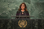 Suriname<br /> H.E. Ms. Niermala Badrising<br /> Minister for Foreign Affairs<br /> <br /> <br /> <br /> General Assembly Seventy First Session: 23rd plenary meeting