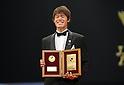 Hiroki Sakai (Reysol), DECEMBER 5, 2011 - Football : 2011 J.League Awards at Yokohama Arena, Kanagawa, Japan. (Photo by Atsushi Tomura/AFLO SPORT) [1035]