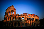 ITALY, ROME, November 2, 2011.General View of the Roman Coliseum November 2, 2011.  VIEWpress / Eduardo Munoz Alvarez.Italy's P.M. Berlusconi resigned on Saturday after new budget law is approved in parliament. The approval of the package will mark the final of the Berlusconi government..Local Media Report