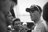 Lars Boom (NLD) interviewed after the stage<br /> <br /> 2013 Ster ZLM Tour <br /> stage 4: Verviers - La Gileppe (186km)