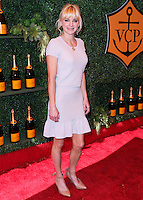 PACIFIC PALISADES, CA, USA - OCTOBER 11: Anna Faris arrives at the 5th Annual Veuve Clicquot Polo Classic held at Will Rogers State Historic Park on October 11, 2014 in Pacific Palisades, California, United States. (Photo by Xavier Collin/Celebrity Monitor)