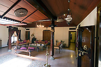 Aleppey, Alappuzha, Kerala, India, April 2008. Homestay accomodation at Maria Heritage Homes & Spa. The backwaters of Kerala are reknowned for its rich culture. The most adventurous way to explore them is by kayak. We joined Kalypso Adventures for our adventure. Photo by Frits Meyst/Adventure4ever.com