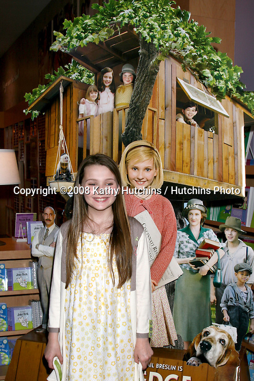 "Abigail Breslin.at an appearance promoting her Kit Kittredge Movie.American Girl Store.""The Grove"" Shopping Center.Los Angeles, CA.May 16, 2008.©2008 Kathy Hutchins / Hutchins Photo ."