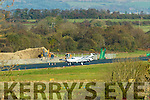 A SINGLE engine plane came off the runway at Kerry Airport on Saturday