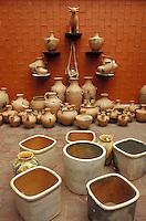 pottery for sale in the ARIPO, Artesanias Industrias Populares de Oaxaca), shop in Oaxaca City, Mexico