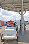Filling Up At Vuma Gas Station