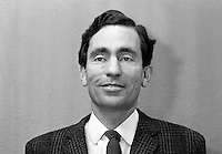 Albie Sachs, lawyer, anti-apartheid campaigner, South Africa, 197107000321b..Copyright Image from Victor Patterson, 54 Dorchester Park, Belfast, UK, BT9 6RJ..Tel: +44 28 9066 1296.Mob: +44 7802 353836.Voicemail +44 20 8816 7153.Skype: victorpattersonbelfast.Email: victorpatterson@mac.com.Email: victorpatterson@ireland.com (back-up)..IMPORTANT: If you wish to use this image or any other of my images please go to www.victorpatterson.com and click on the Terms & Conditions. Then contact me by email or phone with the reference number(s) of the image(s) concerned.