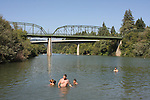 Russian River in summer