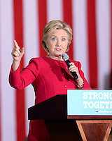 OCT 23 Hillary Clinton Campaigns At Broward College