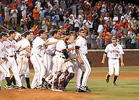 St. John's lost 5-3 to UVa in the NCAA Regional Baseball tournament June 7, 2010 in Charlottesville, VA. (Photo/Andrew Shurtleff)